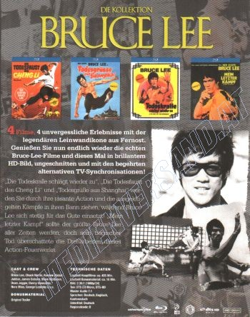 Bruce Lee - Die Kollektion  (blu-ray)