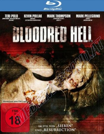 Bloodred Hell  (blu-ray)