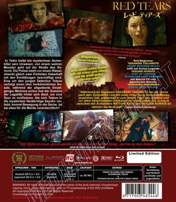 Red Tears - Limited Uncut Edition  (blu-ray)