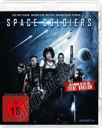 Space Soldiers  (blu-ray)