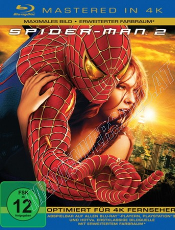Spider-Man 2 - 4K Mastered (blu-ray)