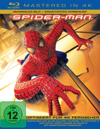 Spider-Man - 4K Mastered (blu-ray)