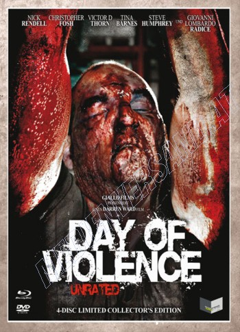 A Day of Violence - Uncut Edition  (DVD+blu-ray) (C)