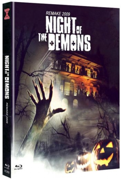 Night of the Demons (2009) - Uncut Mediabook Edition  (blu-ray) (B)