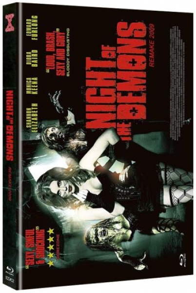 Night of the Demons (2009) - Uncut Mediabook Edition (blu-ray) (C)