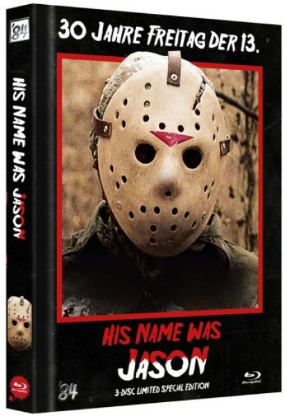 His Name Was Jason - 30 Jahre Freitag der 13. - Uncut Mediabook Edition  (DVD+blu-ray) (B)