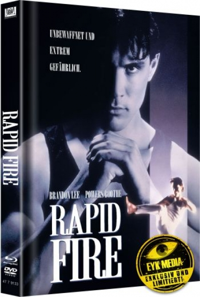 Rapid Fire - Uncut Mediabook Edition  (DVD+blu-ray) (Cover White)