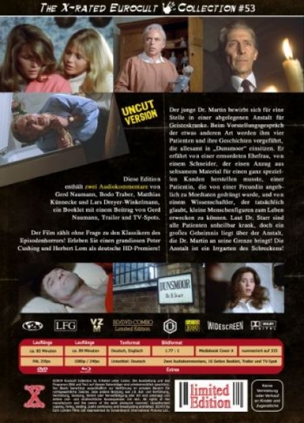 Asylum - The House on the Strand - Eurocult Mediabook Collection  (DVD+blu-ray) (F)
