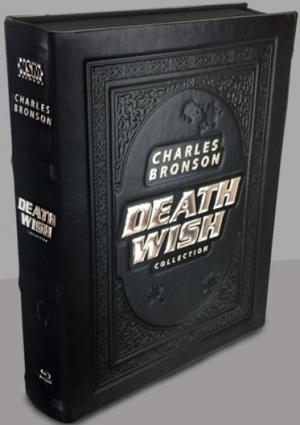 Death Wish 1-5 - Uncut Leatherbook Collection  (blu-ray)