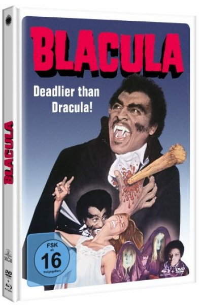 Blacula - Uncut Mediabook Edition  (DVD+blu-ray)