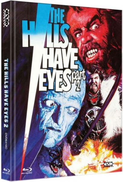 Todestal der Wölfe - The Hills Have Eyes 2 - Uncut Mediabook Edition  (DVD+blu-ray) (C)