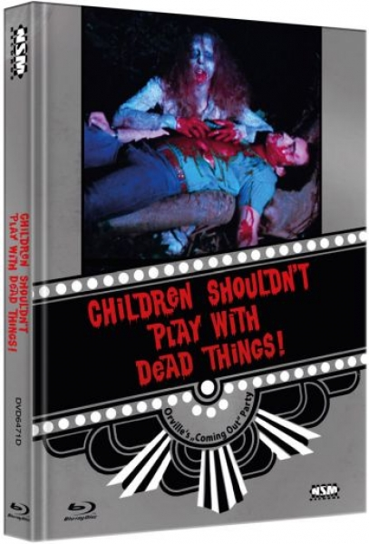 Children Shouldn't Play With Dead Things - Uncut Mediabook Edition  (DVD+blu-ray) (D)