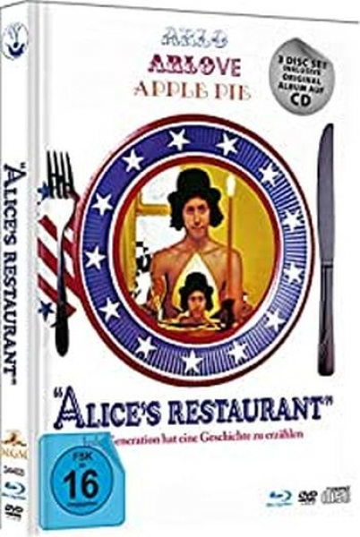 Alice's Restaurant - Limited Mediabook Edition (DVD+blu-ray)