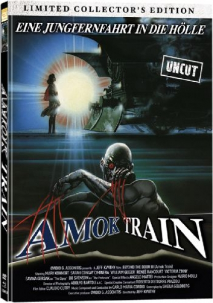 Amok Train - Limited Collectors Edition - Mediabook  (DVD+blu-ray) (B)