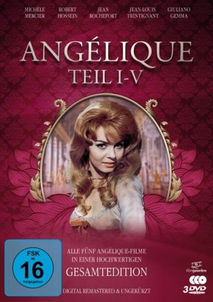 Angelique I-V - Gesamtedition