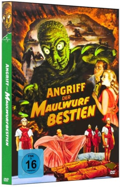 Angriff der Maulwurfbestien - Limited Edition