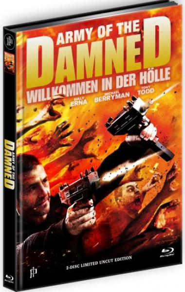 Army of the Damned - Willkommen in der Hölle - Limited Mediabook Edition  (DVD+blu-ray) (B)