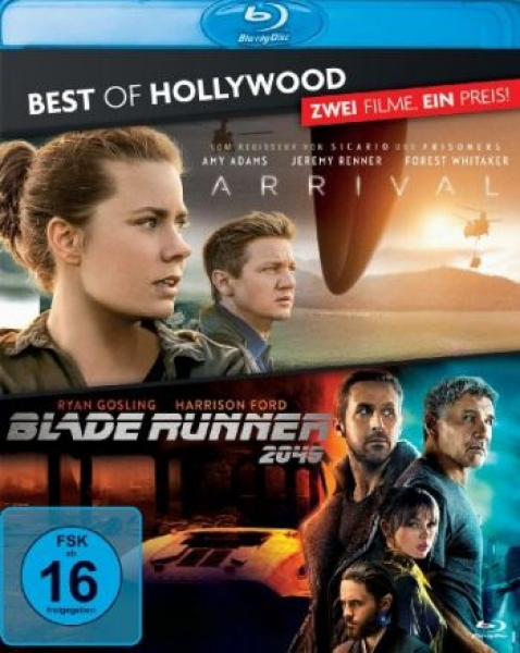 Arrival/Blade Runner 2049 - Best of Hollywood (blu-ray)