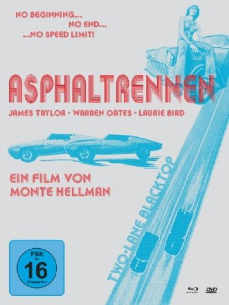 Asphaltrennen - Two-Lane Blacktop - Limited Mediabook Edition  (DVD+blu-ray)