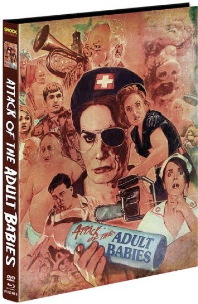 Attack of the Adult Babies - Uncut Mediabook Edition  (DVD+blu-ray) (B)