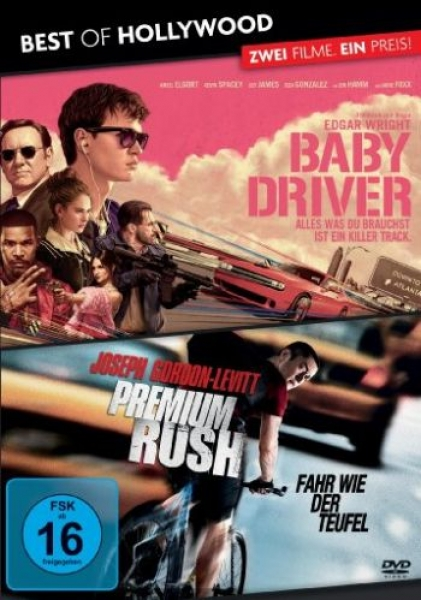 Baby Driver/Premium Rush - Best of Hollywood