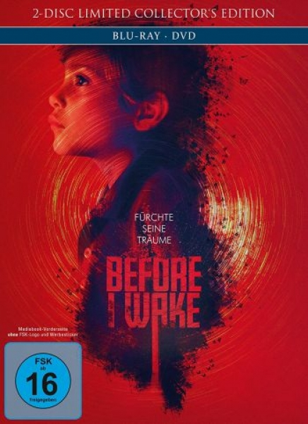 Before I Wake - Limited Mediabook Edition  (DVD+blu-ray)
