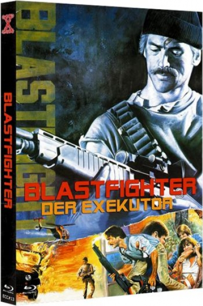 Blastfighter - Der Exekutor - Eurocult Mediabook Collection (DVD+blu-ray) (C)