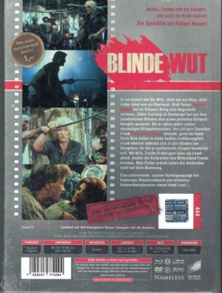 Blinde Wut - Uncut Mediabook Edition  (DVD+blu-ray) (Cover D - Retro)