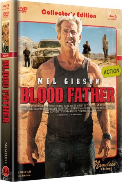 Blood Father - Uncut Mediabook Edition  (DVD+blu-ray) (Cover C - Retro)