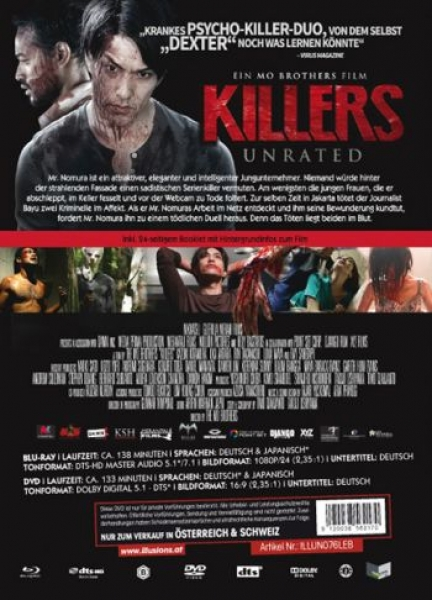 Killers - Uncut Mediabook Edition  (DVD+blu-ray) (B)