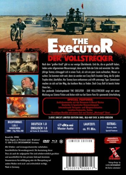 Executor, The - Der Vollstrecker - Uncut Mediabook Edition (DVD+blu-ray)