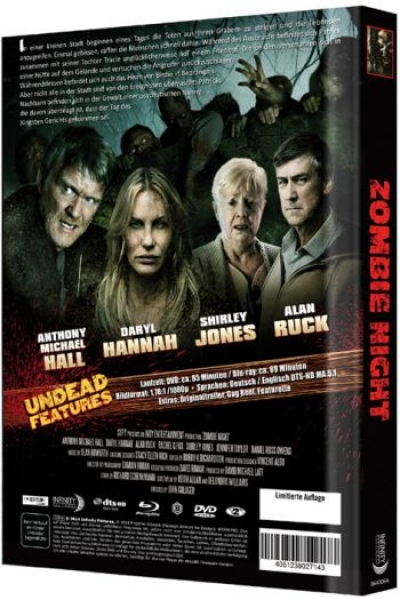 Zombie Night - Uncut Mediabook Edition (DVD+blu-ray) (A)