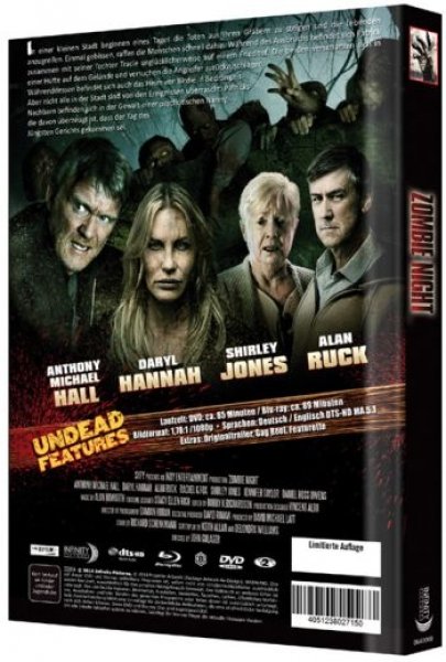 Zombie Night - Uncut Mediabook Edition (DVD+blu-ray) (B)