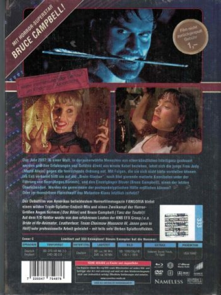 Brain Slasher - Uncut Mediabook Edition  (DVD+blu-ray) (Cover C - Retro)