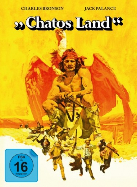 Chatos Land - Uncut Mediabook Edition  (DVD+blu-ray)