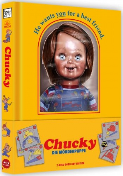 Chucky - Die Mörderpuppe - Good Guy Mediabook Edition  (blu-ray)
