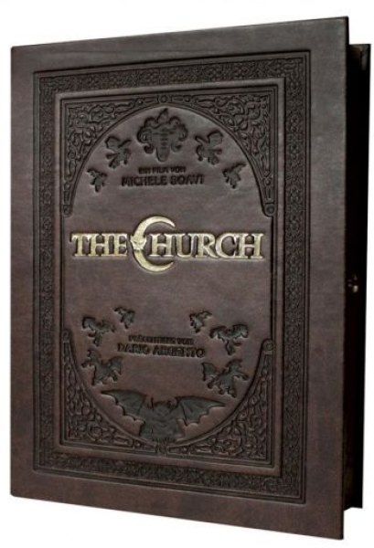 Church, The - Uncut Leatherbook Edition  (DVD+blu-ray)