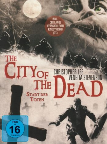 City of the Dead, The - Stadt der Toten - Limited Mediabook Edition  (DVD+blu-ray)