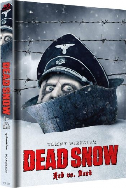 Dead Snow - Red vs. Dead - Uncut Mediabook Edition  (blu-ray) (Cover snow)