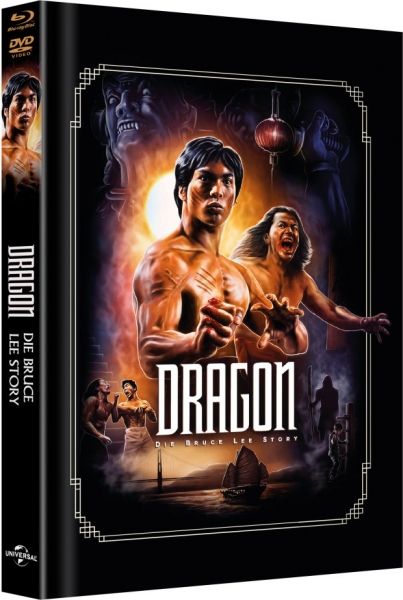 Dragon - Die Bruce Lee Story - Limited Mediabook Edition  (DVD+blu-ray) (Cover Artwork)