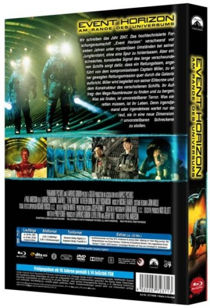 Event Horizon - Limited Mediabook Edition  (DVD+blu-ray) (B)