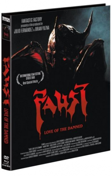 Faust - Love of the Damned - Uncut Mediabook Edition  (DVD+blu-ray) (B)