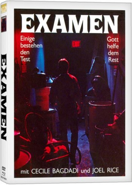 Final Exam - Examen - Uncut Mediabook Edition  (DVD+blu-ray) (B)