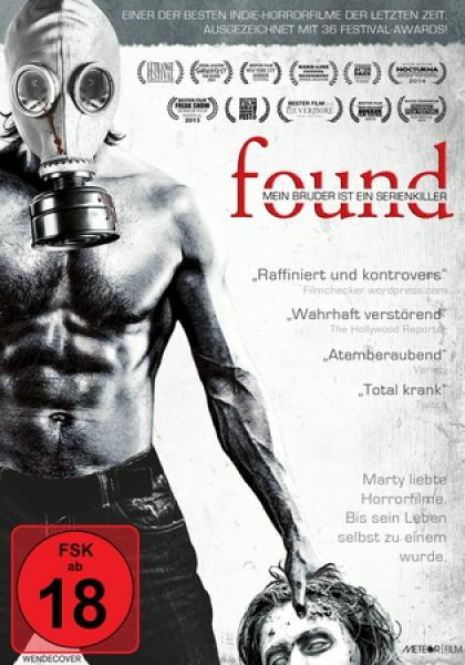 found - mein bruder ist ein serienkiller, deutsch,uncut