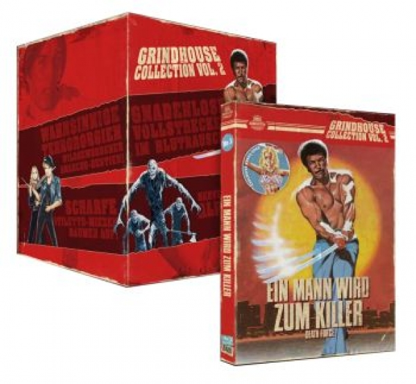 Death Force - Ein Mann wird zum Killer - The Grindhouse Collection 02  (DVD+blu-ray)