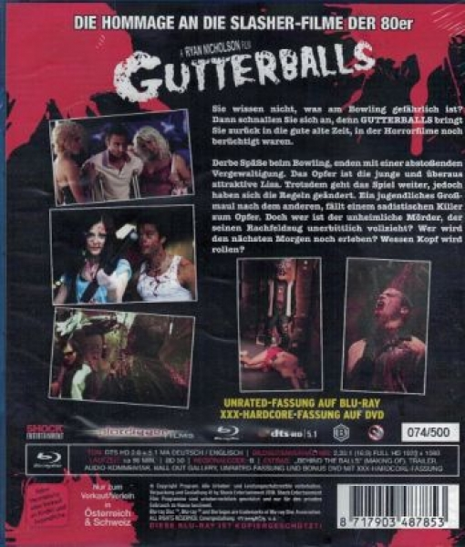 Gutterballs - Limited Uncut Edition  (blu-ray)