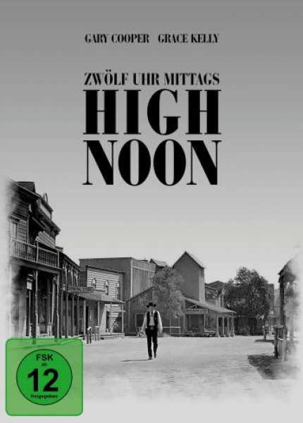 12 Uhr mittags - High Noon - Limited Mediabook Edition  (DVD+blu-ray)