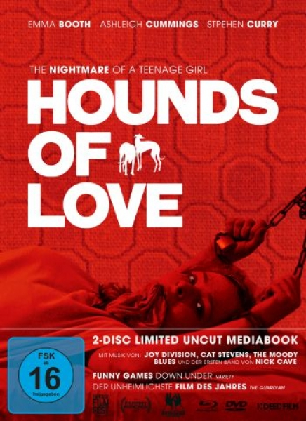Hounds Of Love - Limited Mediabook Edition  (DVD+blu-ray)