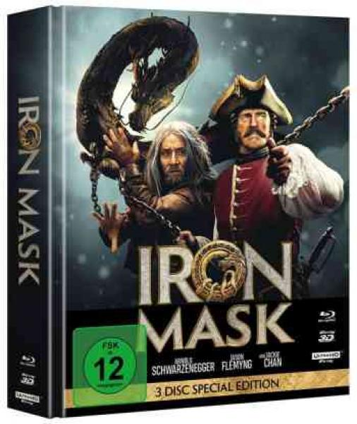 Iron Mask - Uncut Mediabook Edition (4K Ultra HD+blu-ray+3D-blu-ray)