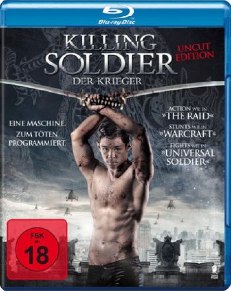Killing Soldier - Der Krieger - Uncut Edition (blu-ray)